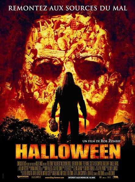 affiche du film Halloween (2007)