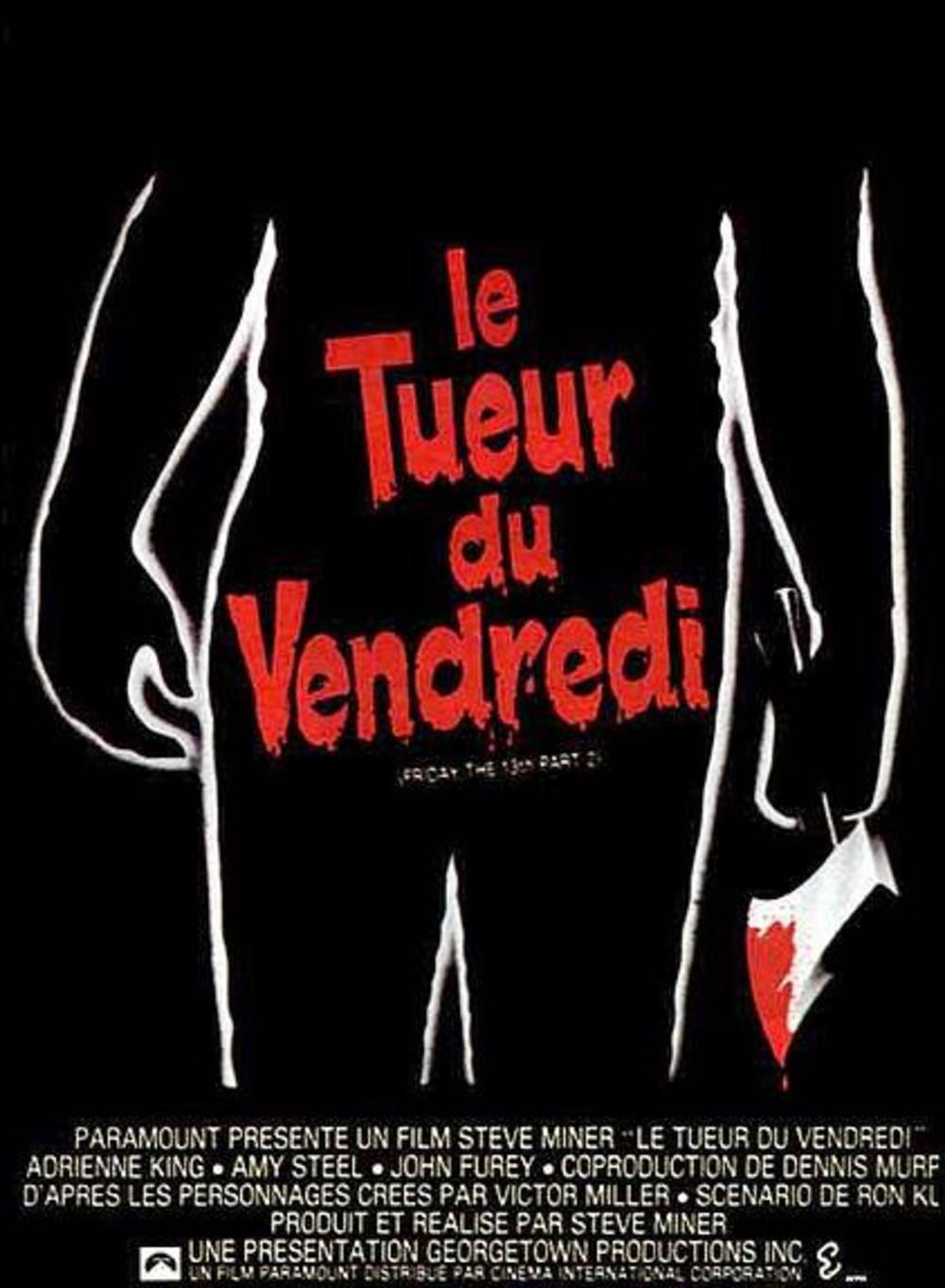 affiche du film Vendredi 13 : Le tueur du vendredi