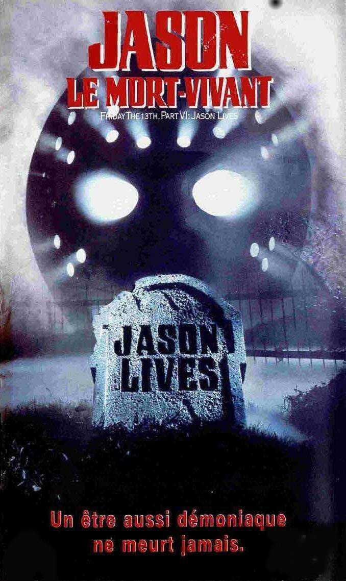 affiche du film Vendredi 13 : Jason le mort-vivant