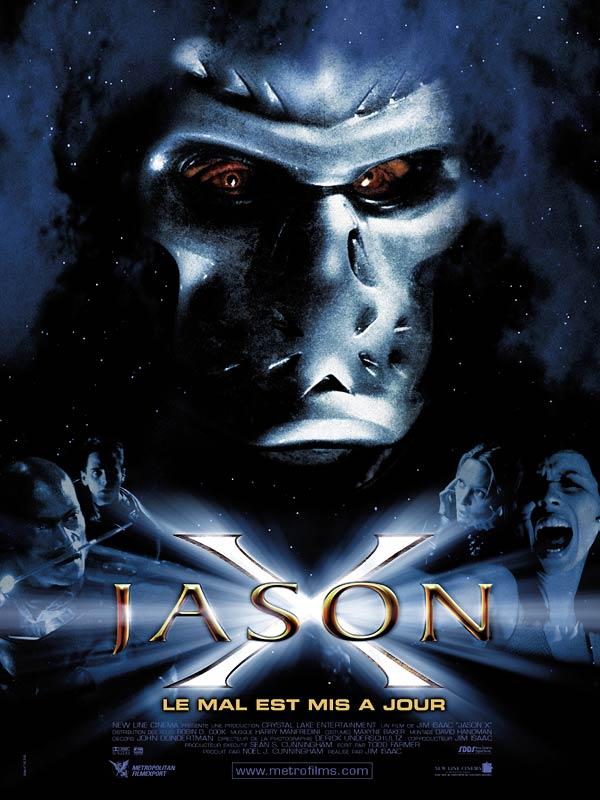 affiche du film Jason X