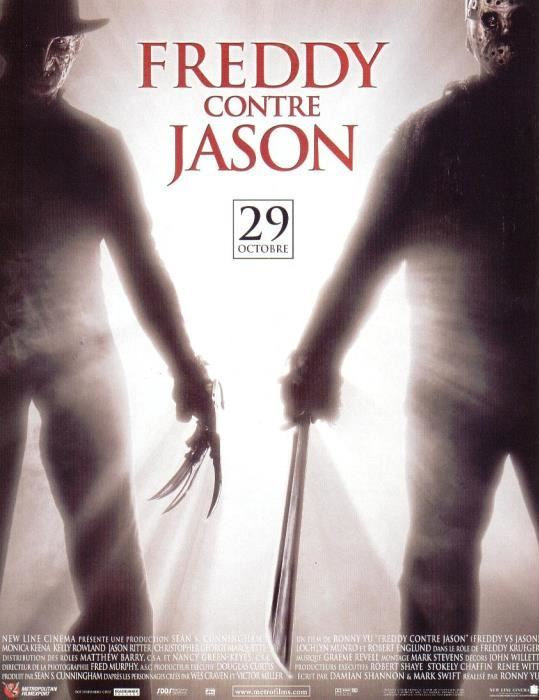 affiche du film Freddy contre Jason