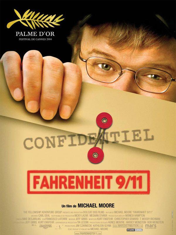 affiche du film Fahrenheit 9/11