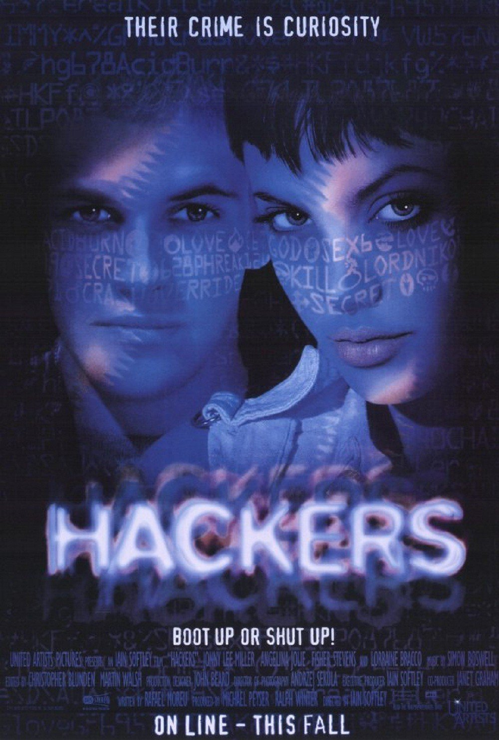 affiche du film Hackers