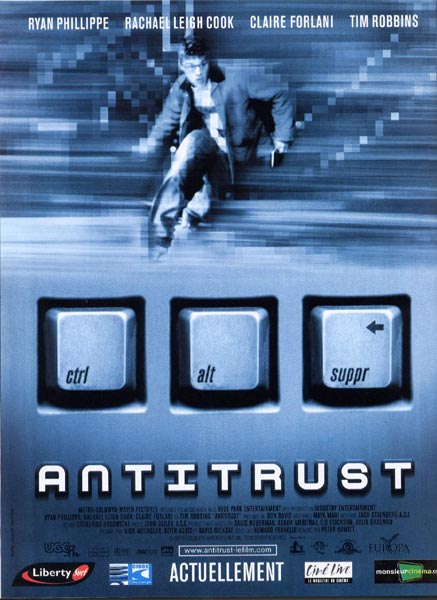 affiche du film AntiTrust