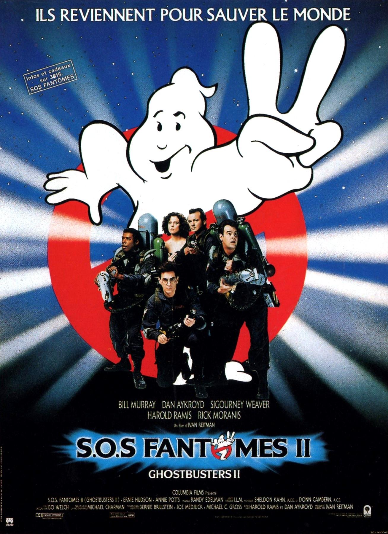 affiche du film S.O.S. Fantômes II