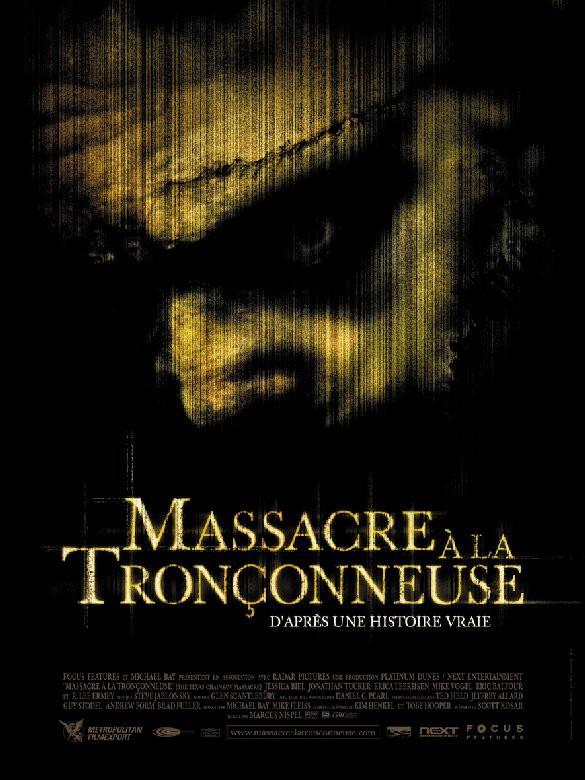 affiche du film Massacre à la tronçonneuse (2003)