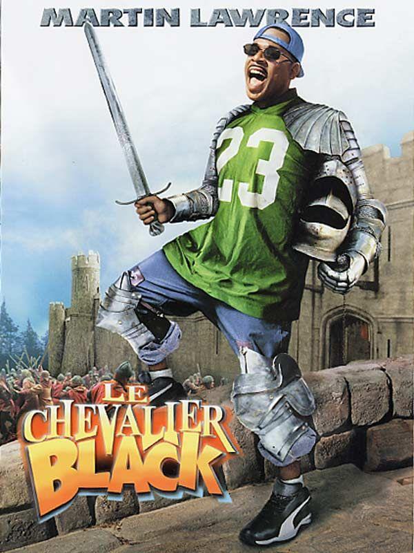 affiche du film Le chevalier black
