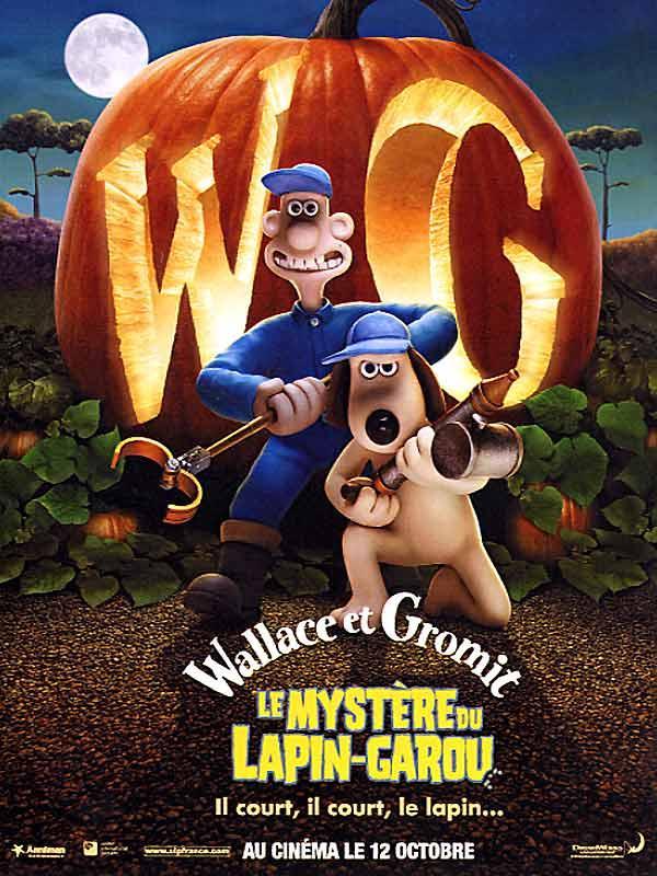 affiche du film Wallace et Gromit: Le mystère du lapin-garou