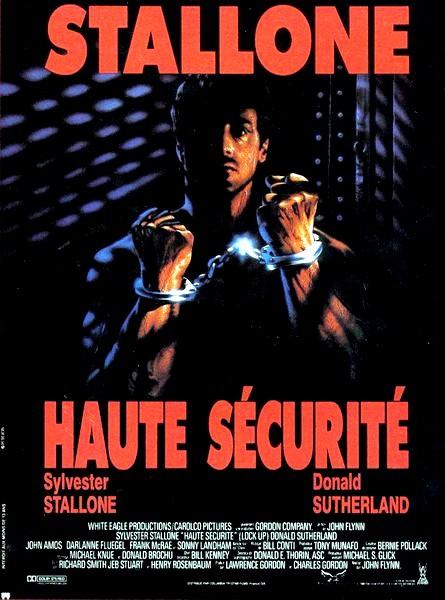 affiche du film Haute sécurité