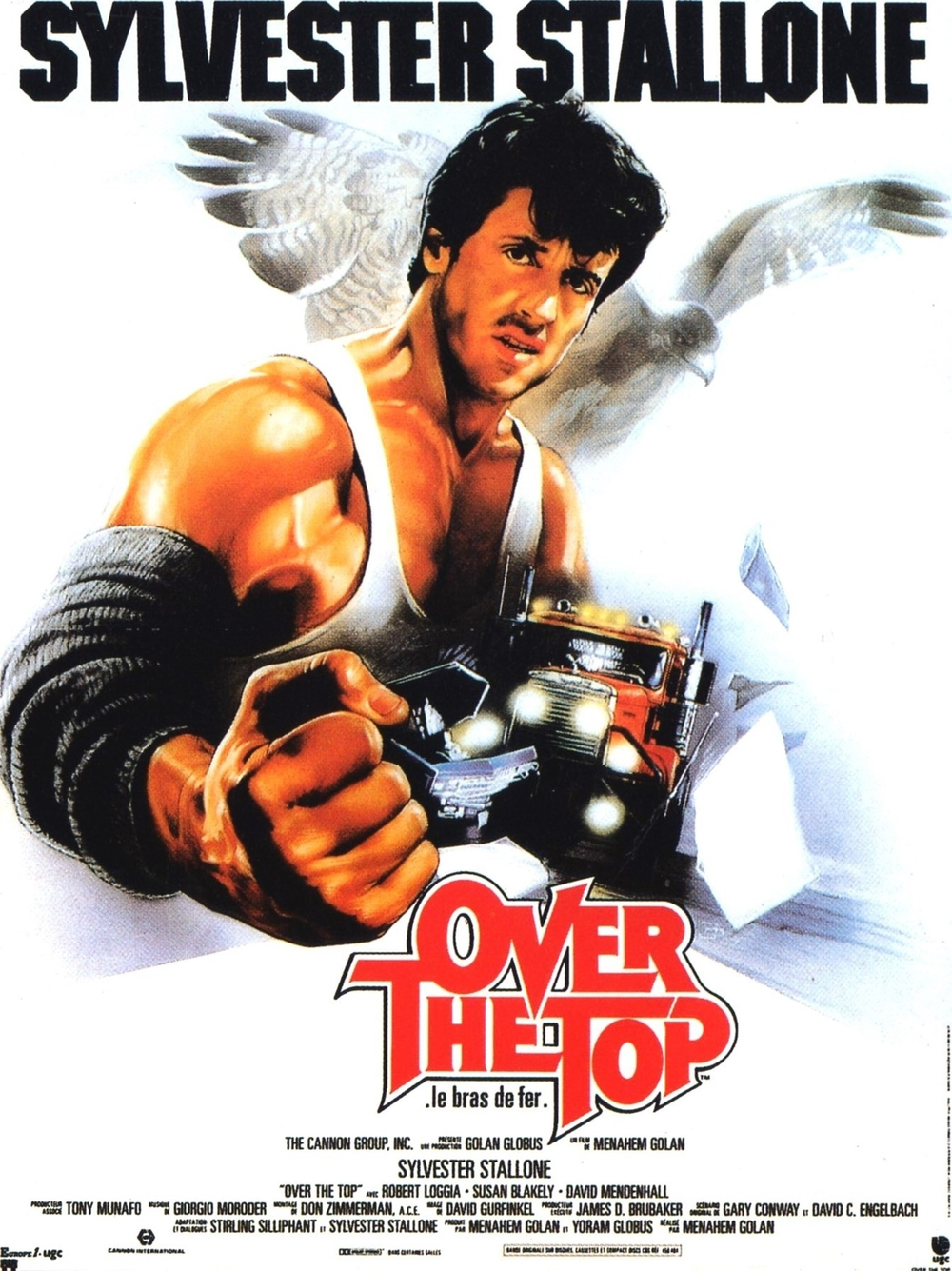 affiche du film Over the Top : Le bras de fer