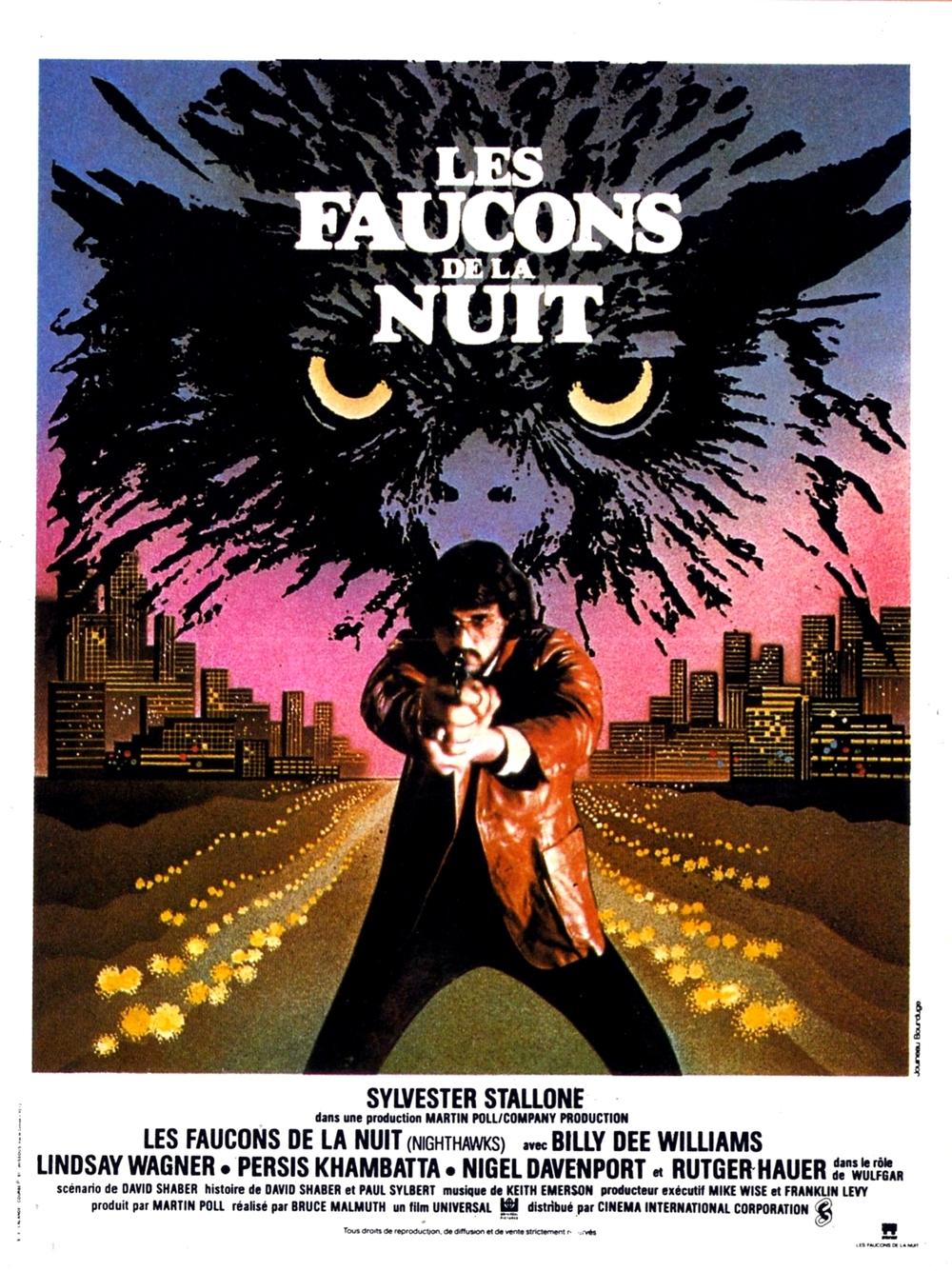 affiche du film Les faucons de la nuit