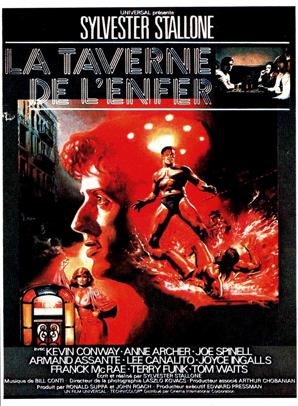 affiche du film La taverne de l'enfer
