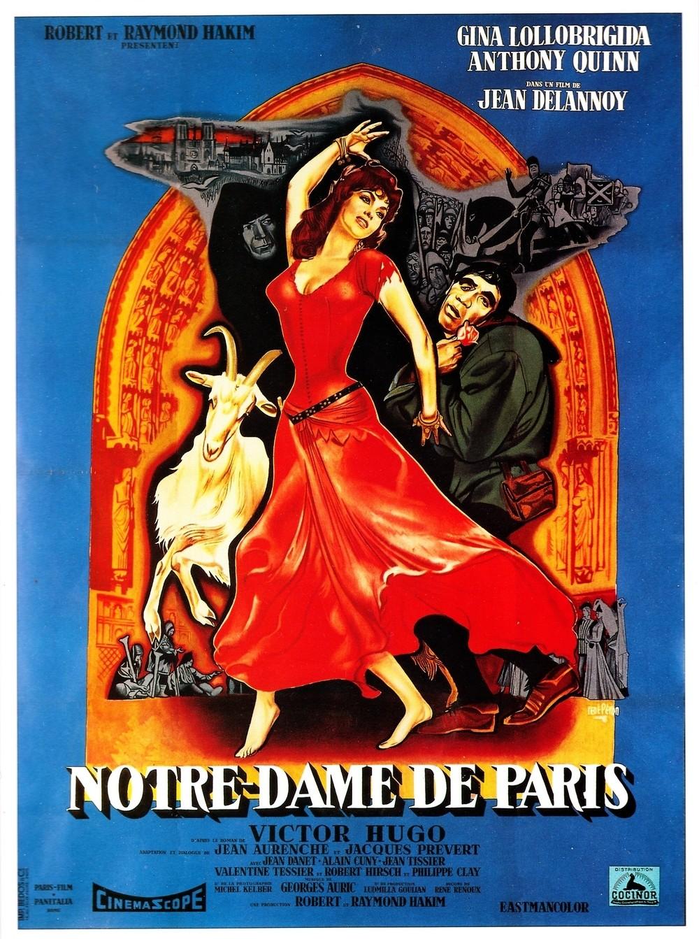 affiche du film Notre-Dame de Paris (1956)