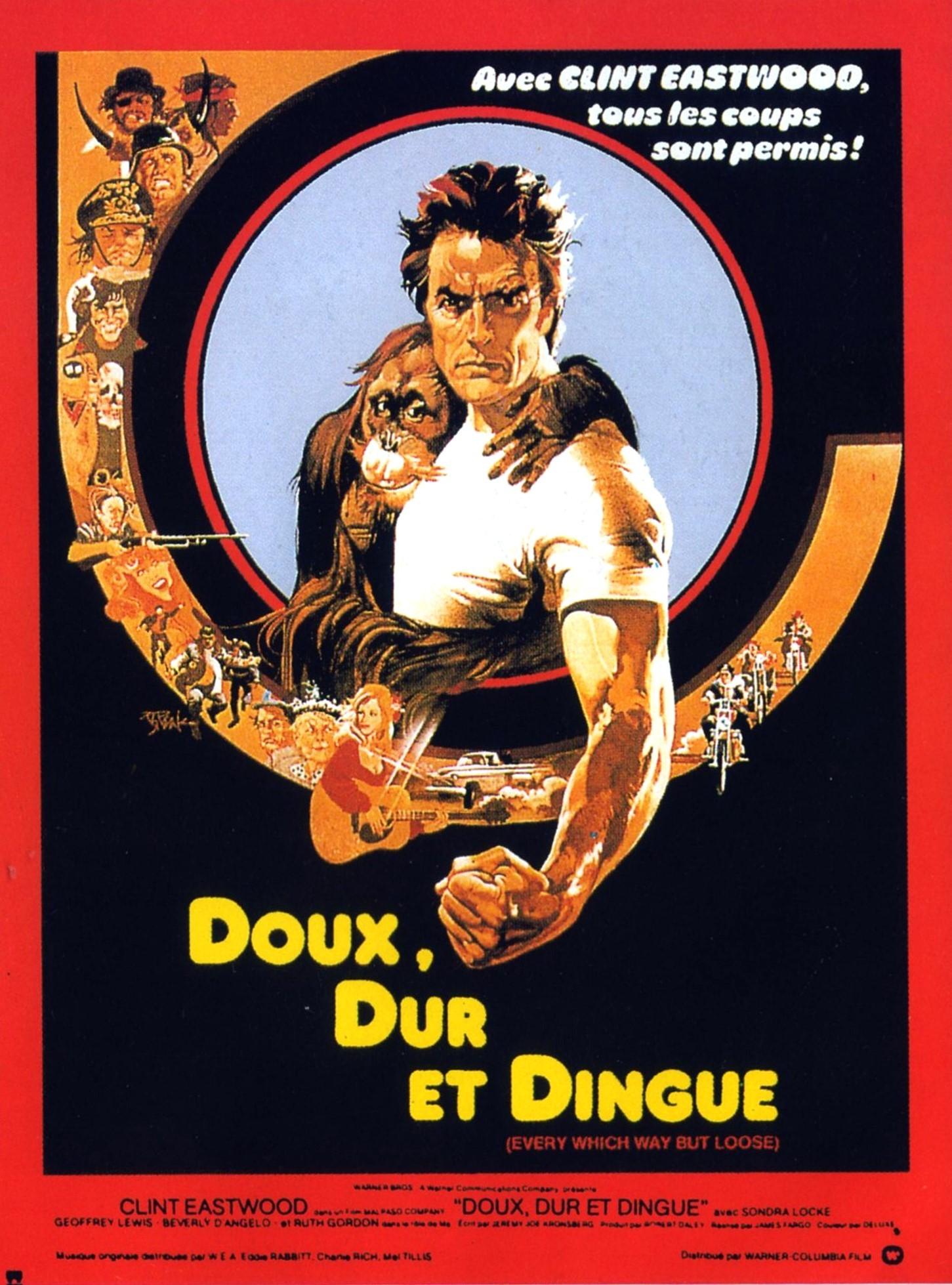 affiche du film Doux, dur et dingue
