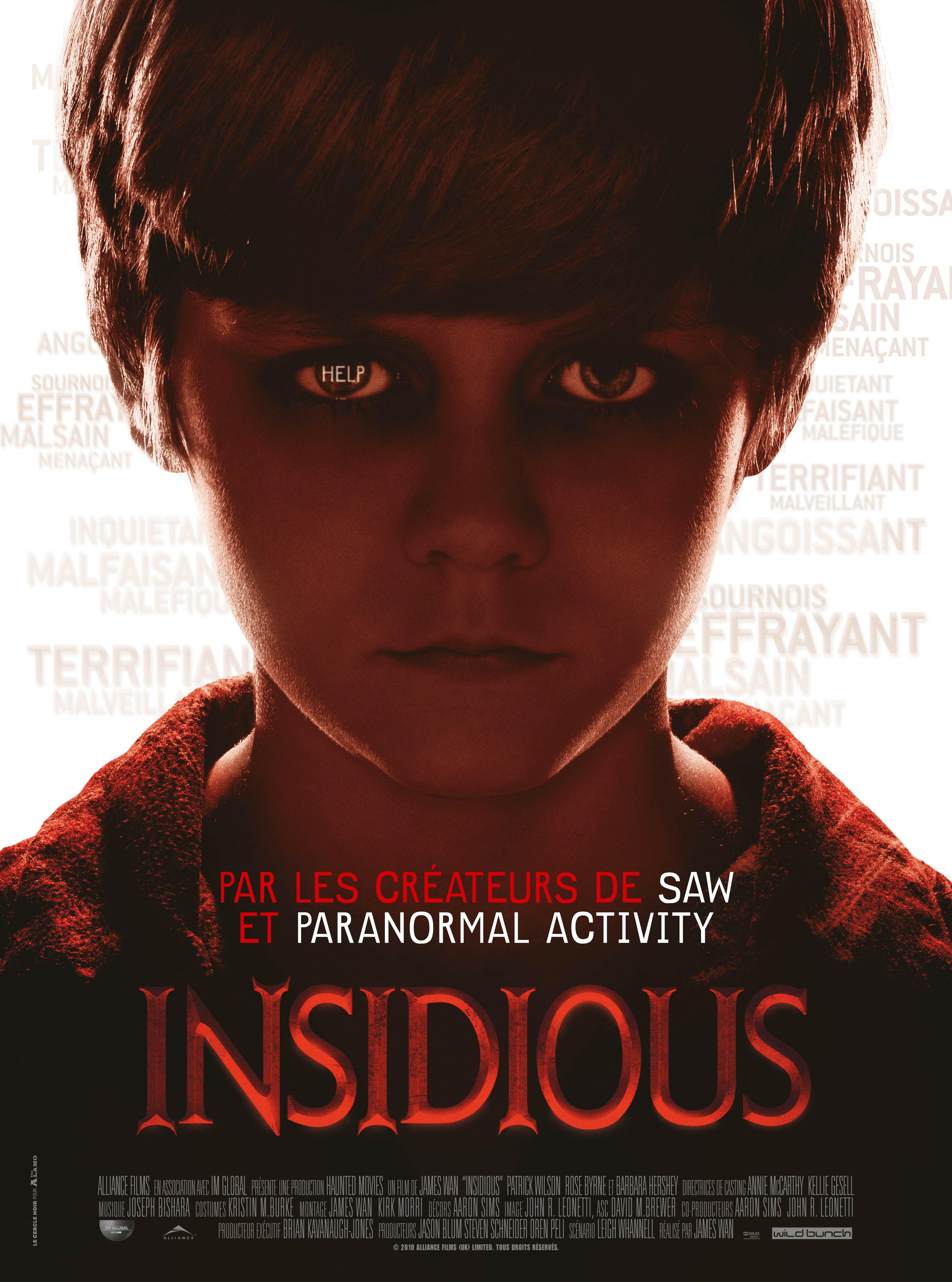 affiche du film Insidious