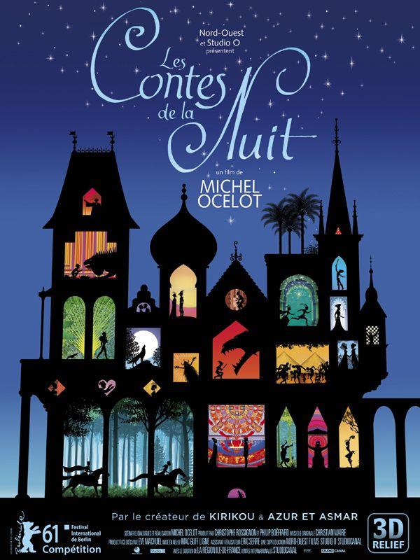 affiche du film Les Contes de la Nuit