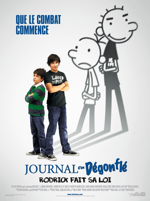 affiche du film Journal d'un dégonflé : Rodrick fait sa loi