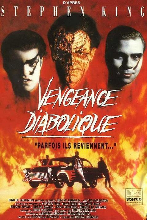 affiche du film Vengeance diabolique (TV)