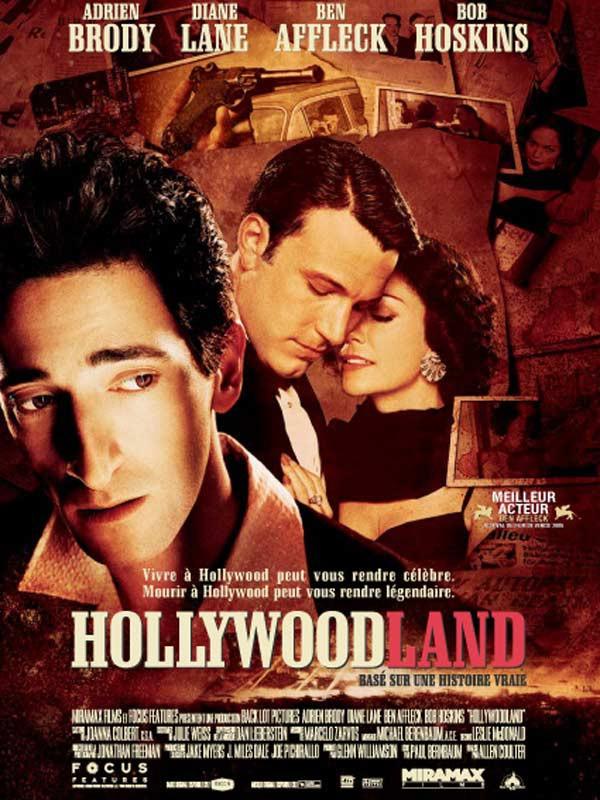 affiche du film Hollywoodland