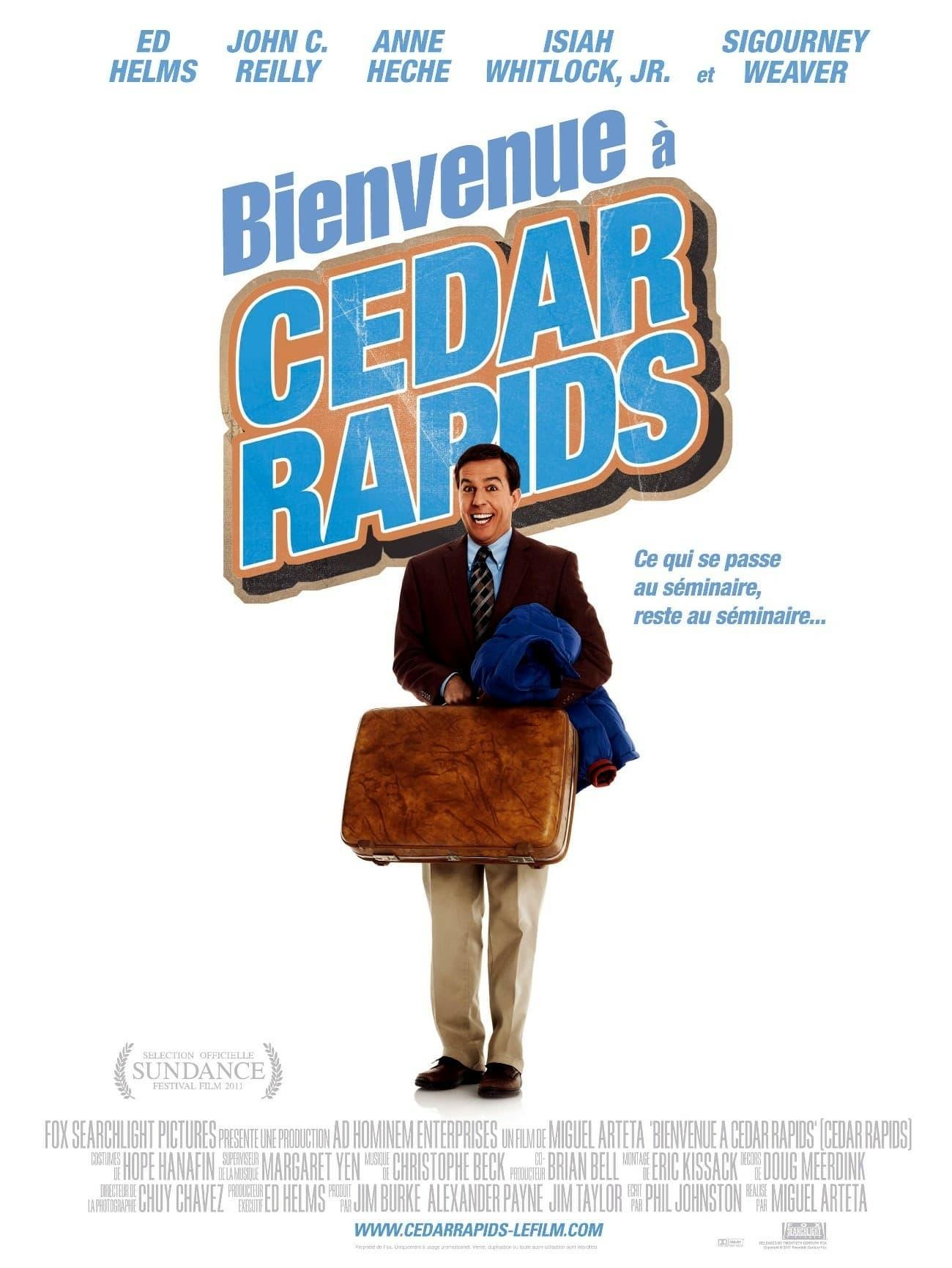 affiche du film Bienvenue à Cedar Rapids