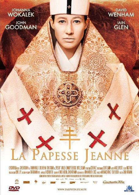 affiche du film La Papesse Jeanne