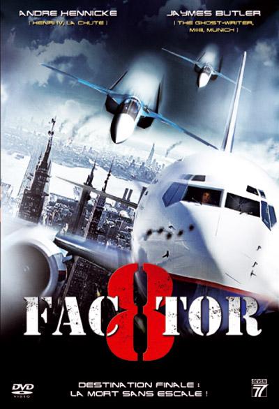 affiche du film Facteur 8: alerte en plein ciel (TV)