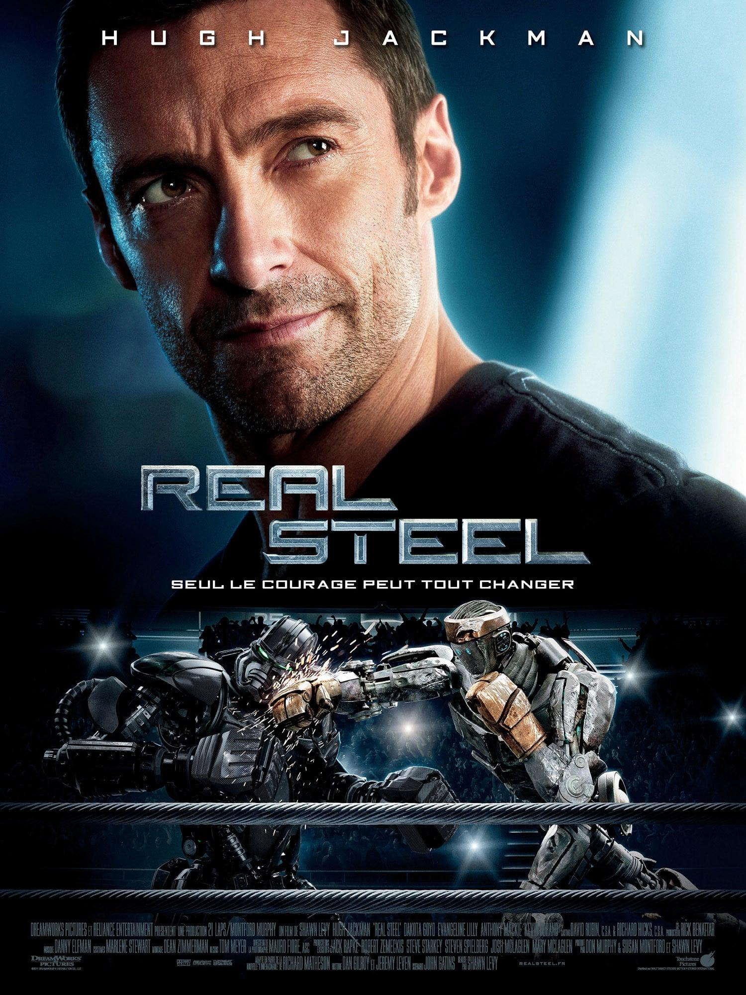 affiche du film Real Steel