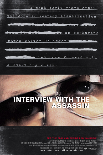 affiche du film Interview with the Assassin