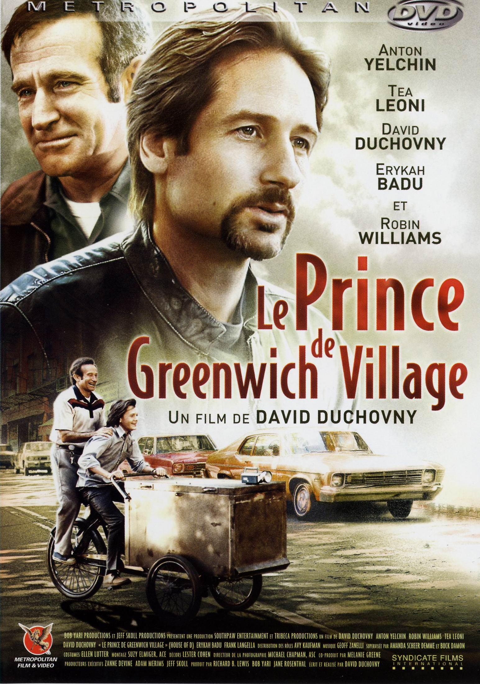 affiche du film Le prince de Greenwich Village