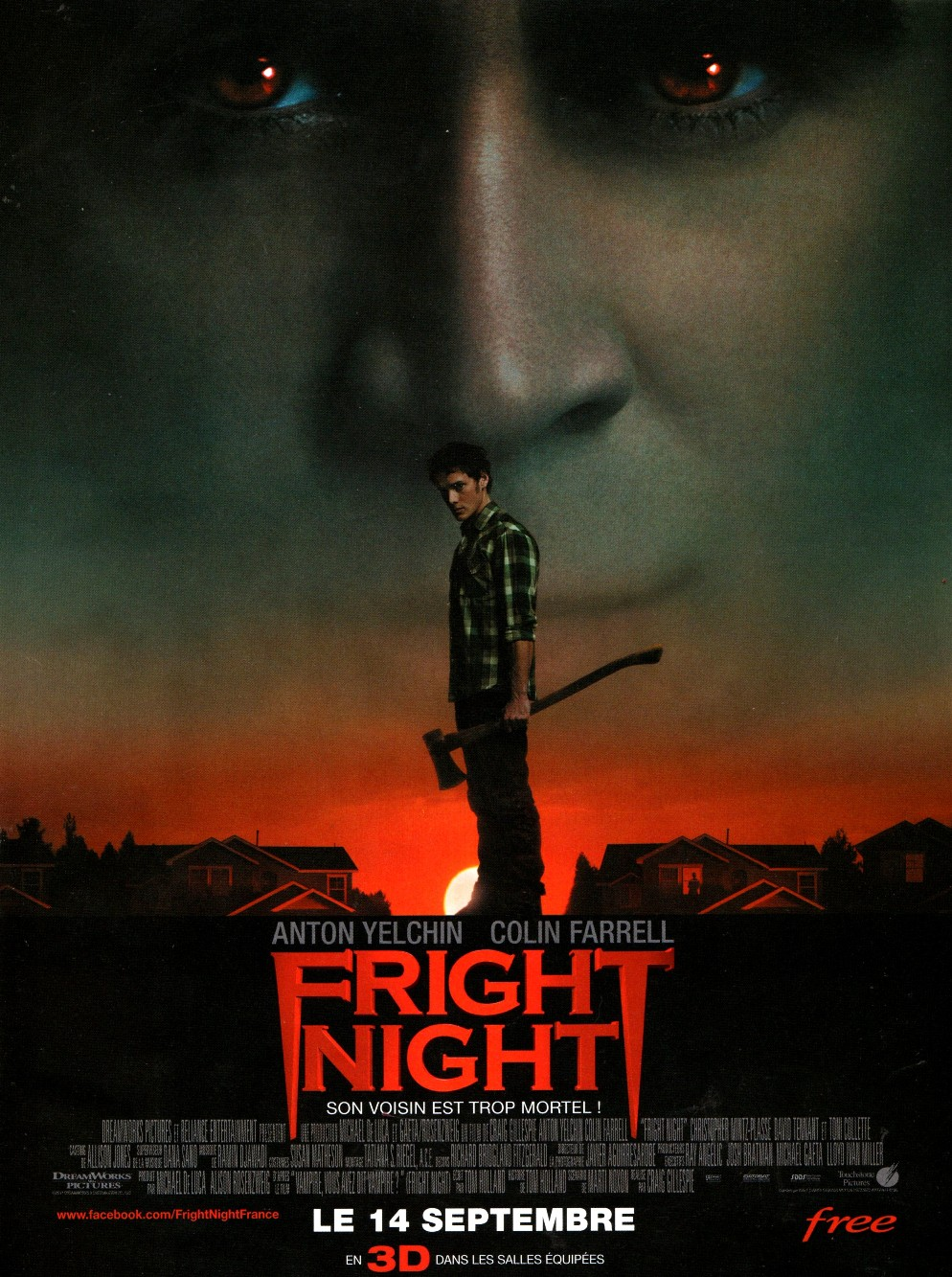 affiche du film Fright Night