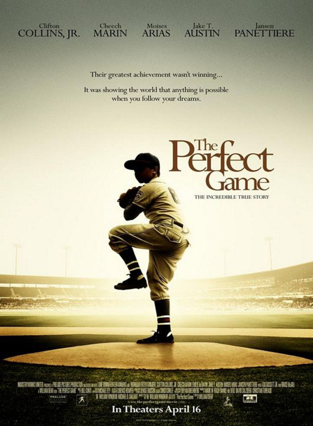 affiche du film The Perfect Game