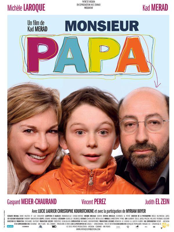 affiche du film Monsieur Papa (2011)