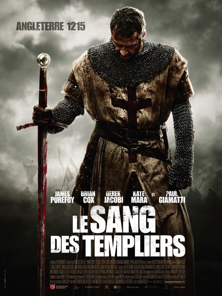affiche du film Le sang des templiers