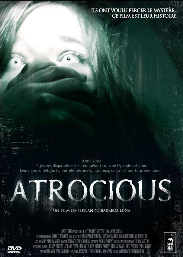 affiche du film Atrocious