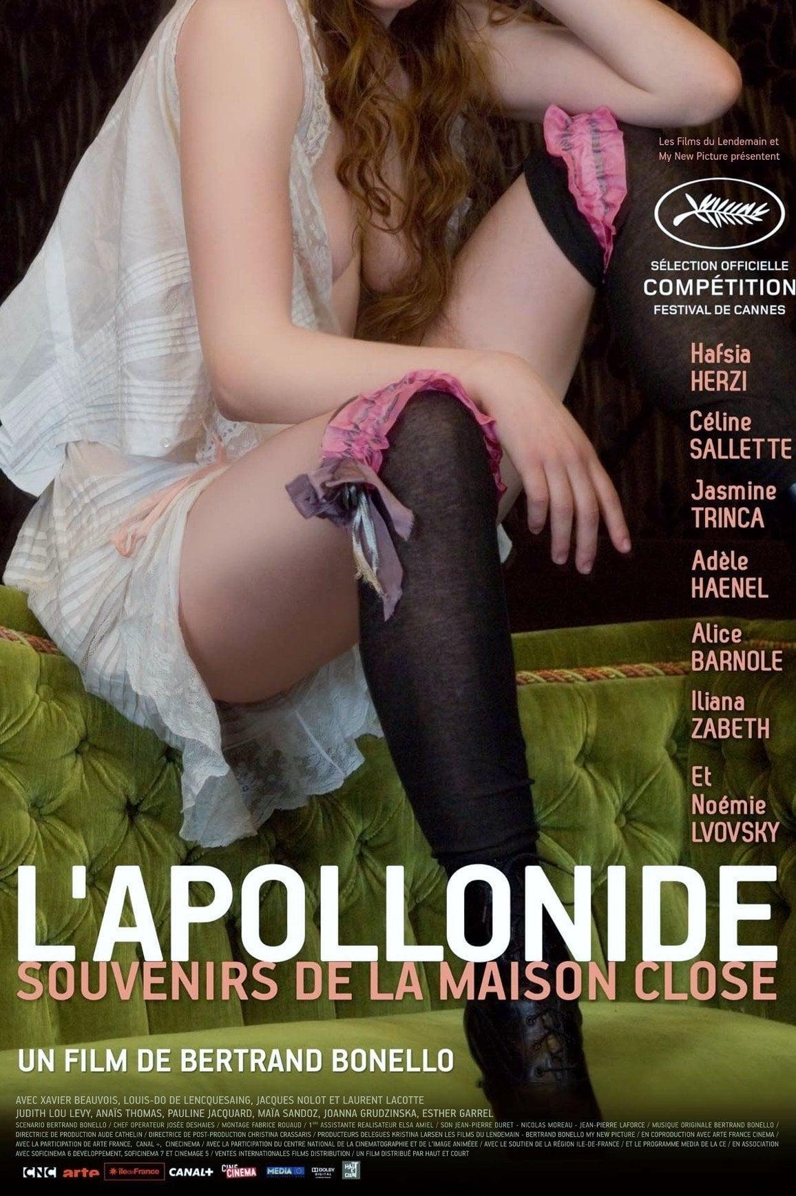 affiche du film L'Apollonide (Souvenirs de la maison close)
