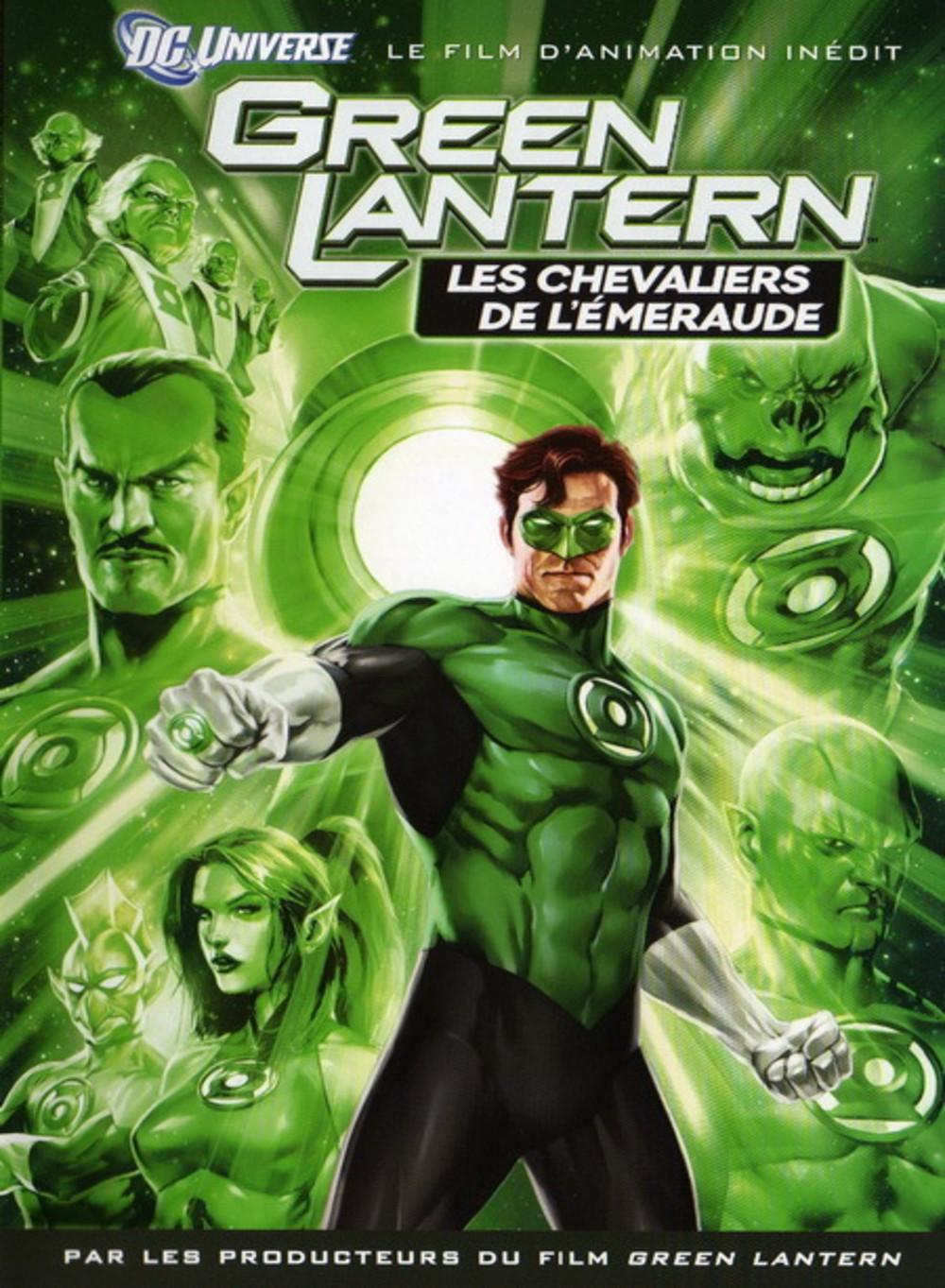 affiche du film Green Lantern : Les Chevaliers de l'Emeraude