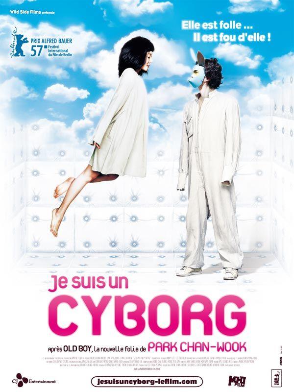 affiche du film Je suis un cyborg
