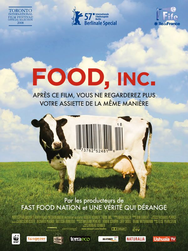 affiche du film Food, Inc.