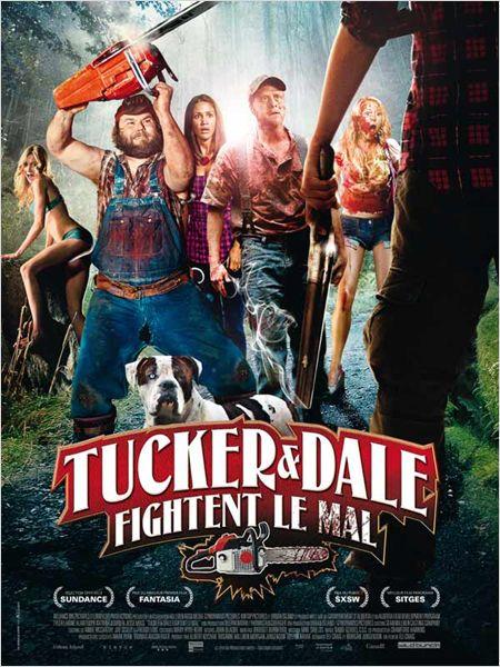 affiche du film Tucker & Dale fightent le mal