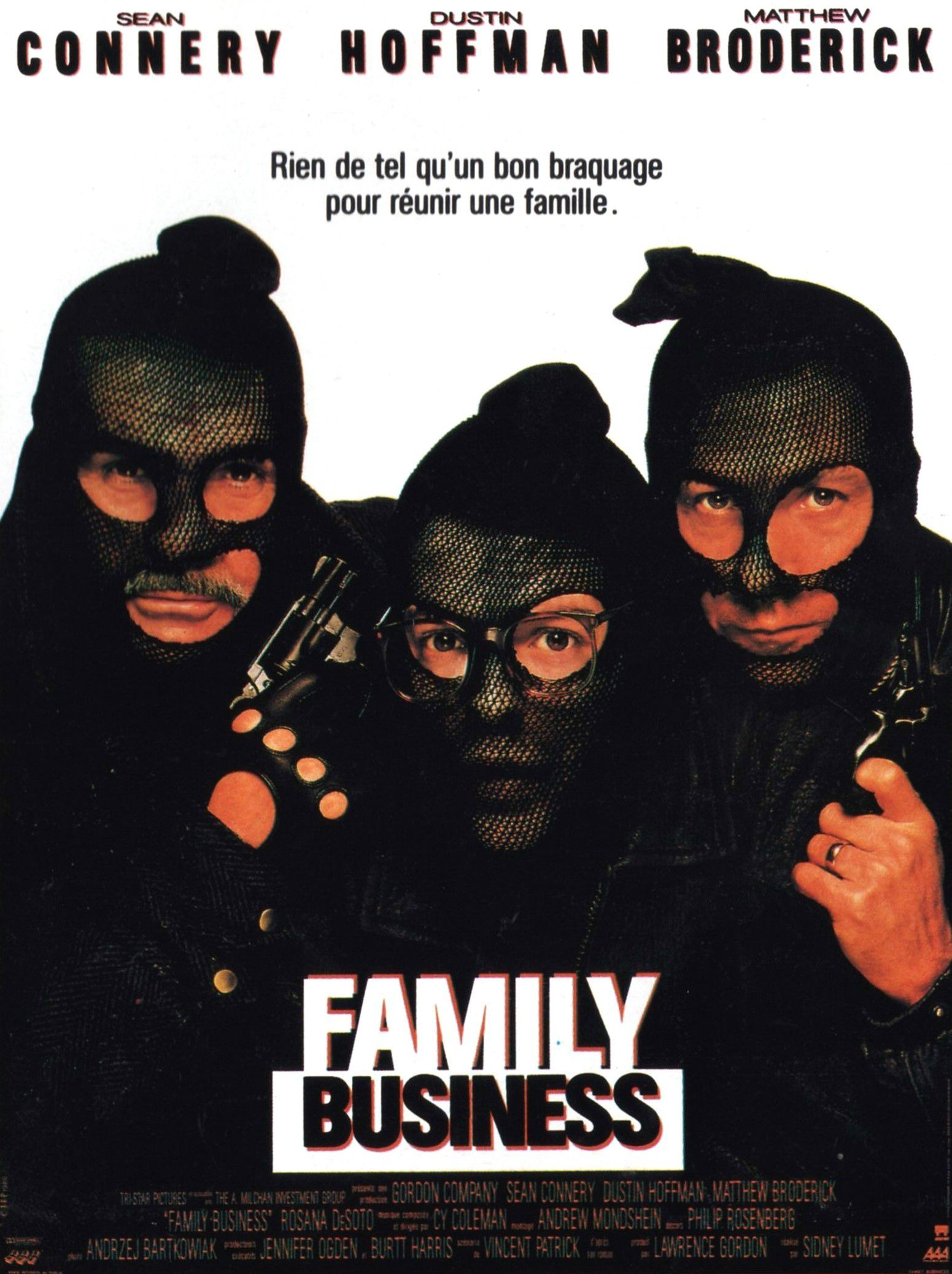 affiche du film Family Business