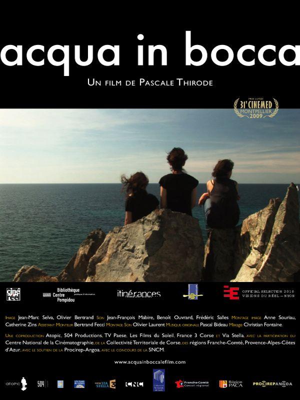 affiche du film Acqua in bocca