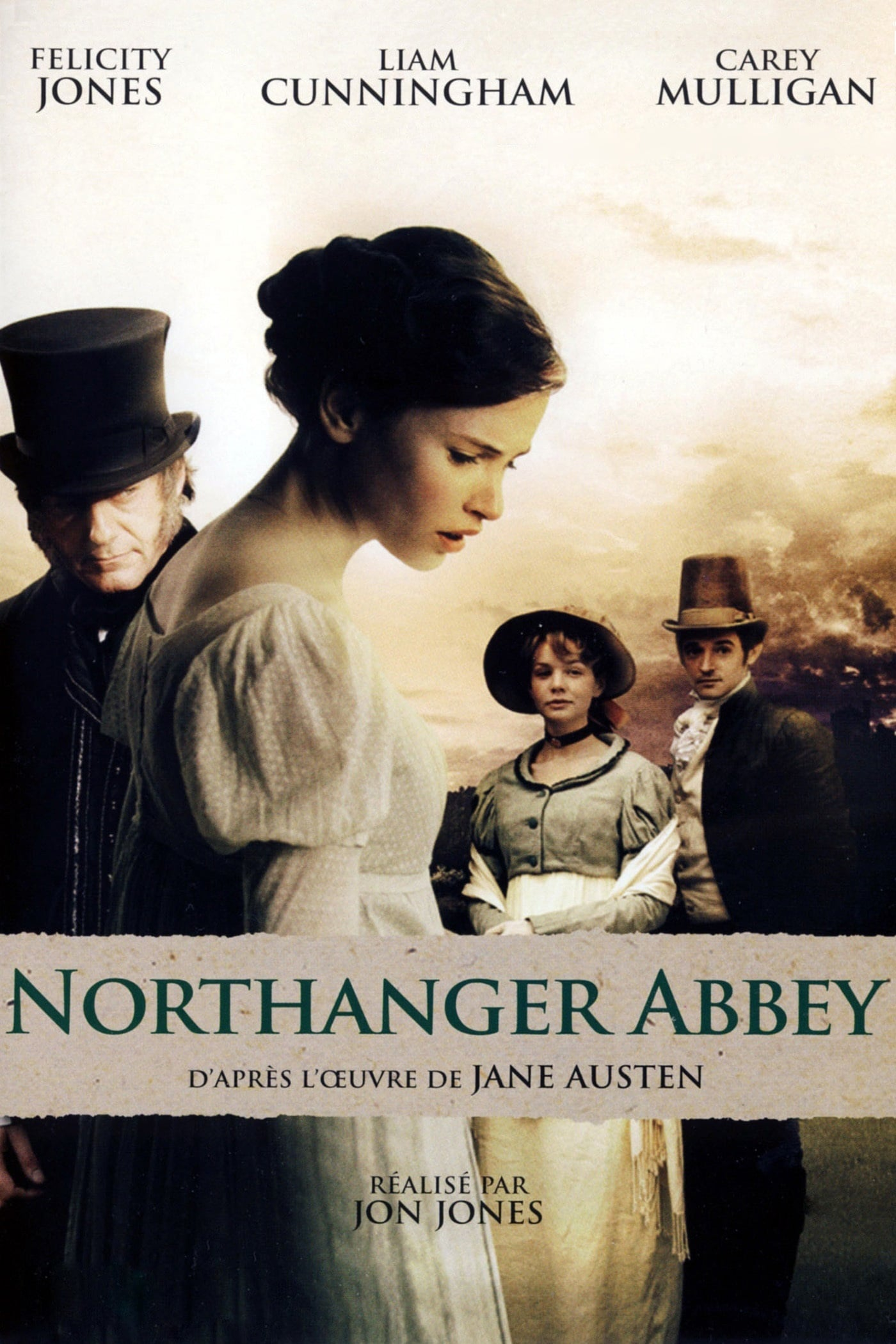 affiche du film Northanger Abbey (TV)
