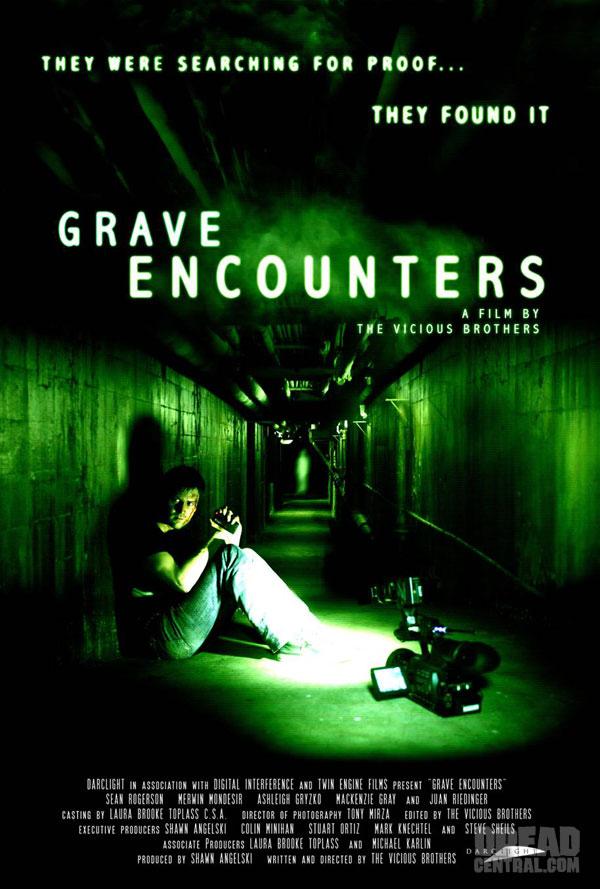 affiche du film Grave Encounters
