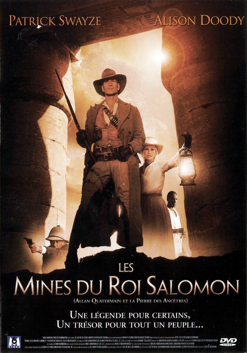 affiche du film Allan Quatermain et la pierre des ancêtres (TV)