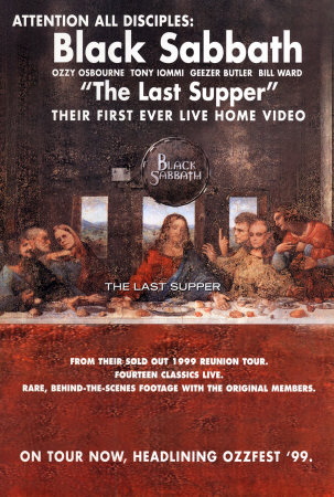 affiche du film Black Sabbath: The Last Supper