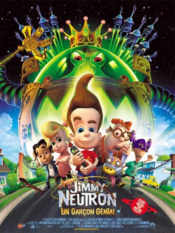 affiche du film Jimmy Neutron: Un garçon génial