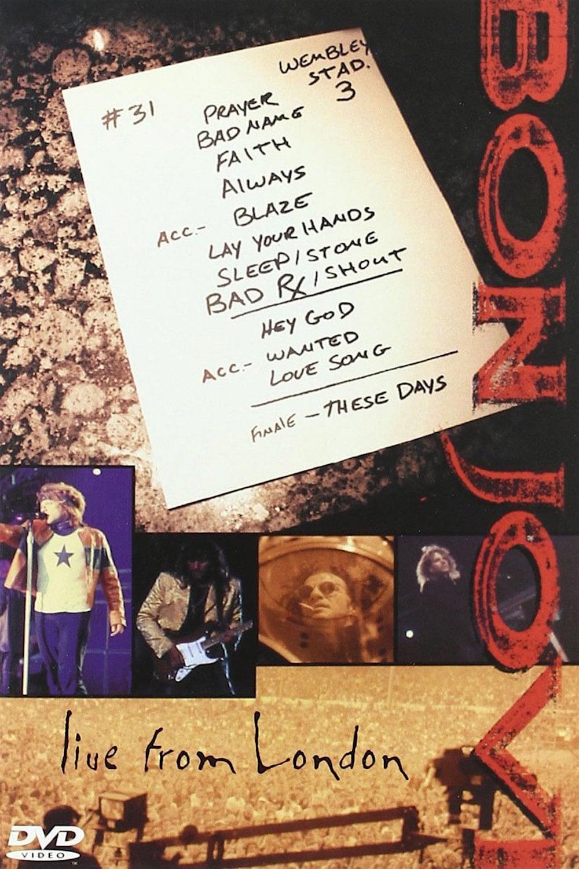 affiche du film Bon Jovi: Live From London