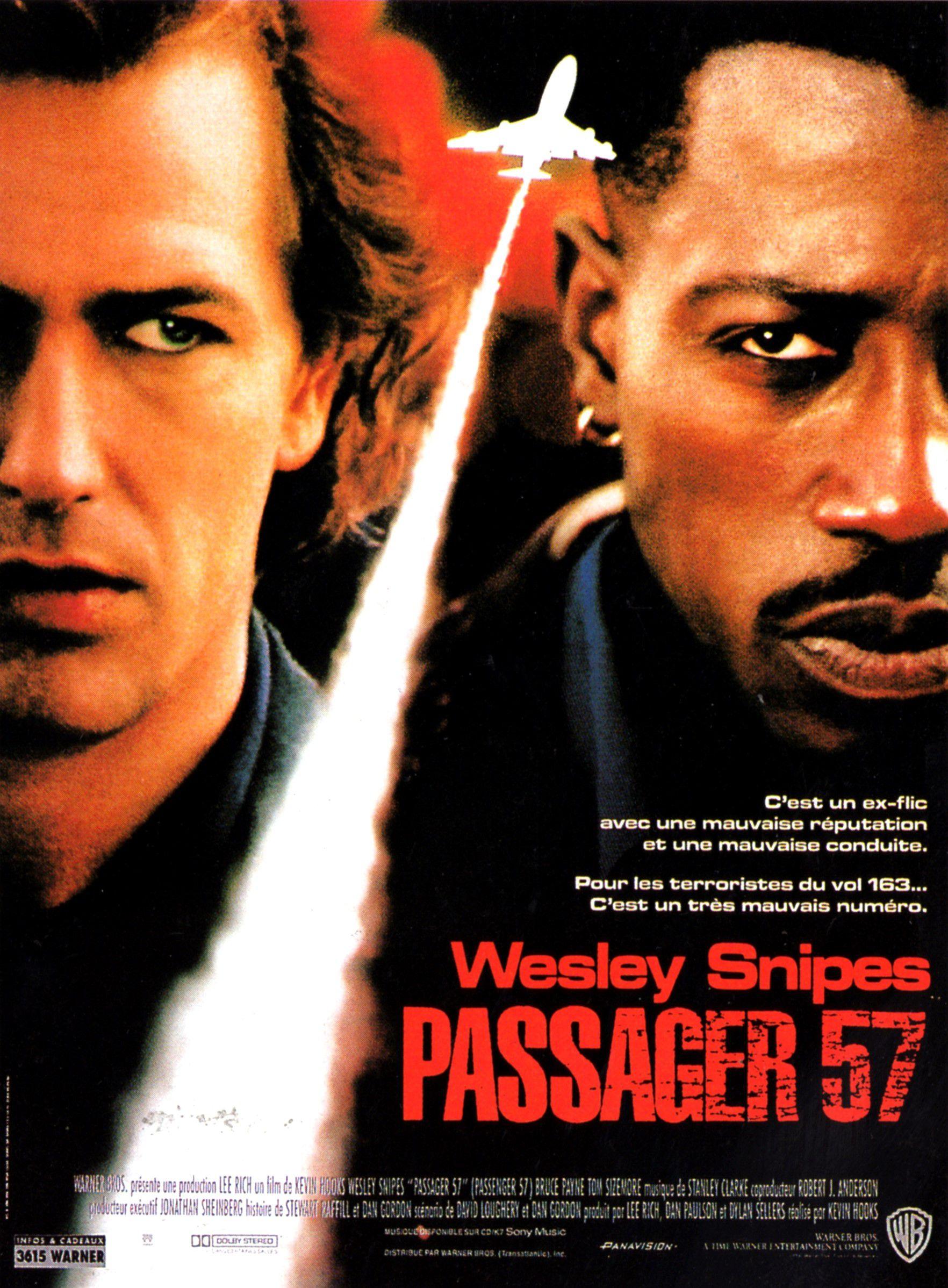 affiche du film Passager 57