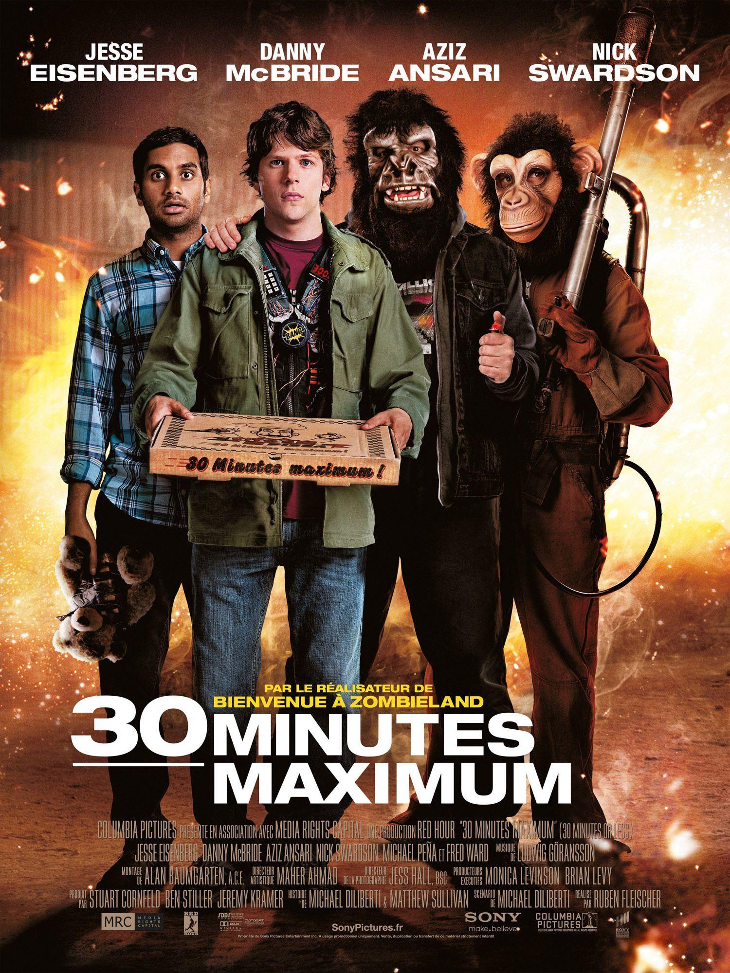affiche du film 30 minutes maximum