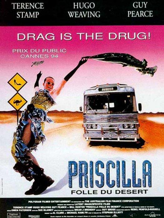 affiche du film Priscilla, folle du désert